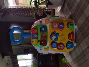 Vtech play suitcase Peterborough Peterborough Area image 1