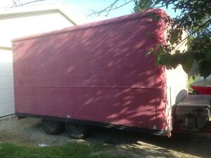 Large Enclosed Dual-Axle Trailer - fully certified and updated Kitchener / Waterloo Kitchener Area image 1