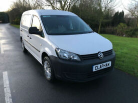 2013 63 VOLKSWAGEN CADDY MAXI C20 1.6TDI 102BHP WHITE 1 COMPANY OWNER NO VAT