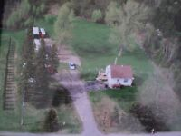 AMAZING 1 ACRE AZILDA LOT WITH COUNTRY HOME