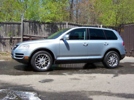 VW TOUAREG 2.5 TDI AUTO 2007 FACELIFT MODEL IN GOOD CONDITION £ 3500 Private plate not included