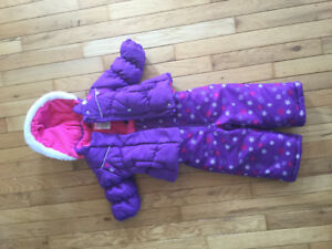 Carters size 12 month winter jacket and matching snow pants.
