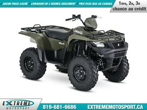 2016 Suzuki KingQuad 750AXi Power Steering 38,72$/SEMAINE