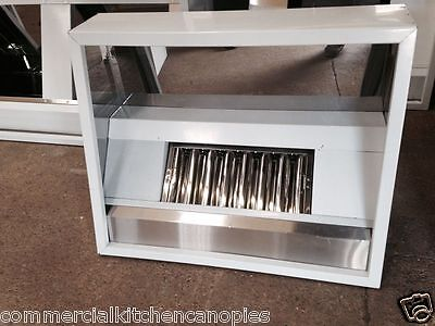 New Commercial Kitchen Canopy 1000MM  + Extraction Kit
