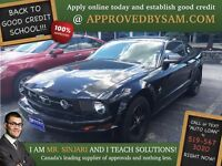 """Dark Knight Mustang - TEXT """"AUTO LOAN"""" TO 519 567 3020"""