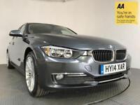 2014 14 BMW 3 SERIES 2.0 320D LUXURY 4D AUTO 184 BHP DIESEL