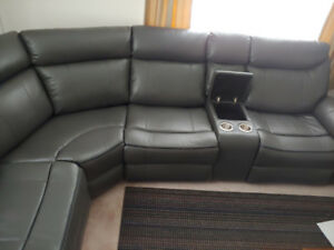 Leather Sectional Sofa (Brand New)