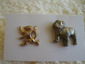 PAIR of OLD VINTAGE COLLECTOR LAPEL PINS