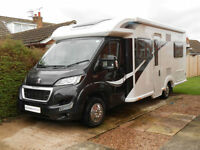 2015 Bailey Approach Autograph 745. 4 Berth, 4 Travelling Seats. Low Mileage
