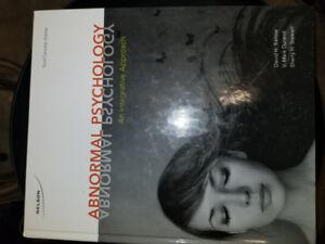 Abnormal Psychology  an Integrative  approach  David H Barlow