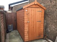"8x4 ft 8""x4"" Garden Shed outbuilding not 6x4"