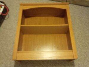 Small Pine Look Book Shelf - great for small spaces.
