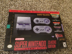 Super Nintendo Classic - Brand New & Never Opened! SNES