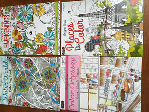 New! Assorted adult colouring books Kitchener / Waterloo Kitchener Area image 2