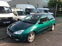 2001 51 FORD FOCUS CHEAP BARGAIN CAR READY TO GO TODAY WITH LONG MOT !!!!!