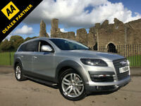 2008 Audi Q7 Quattro 3.0TDI ( 229bhp ) Limited Edition 7 Seater **Only 77,000**
