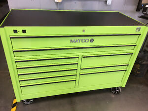 Matco 4S toolbox with power