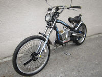 Bicycle Electric Chopper (style Harley Davidson)
