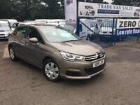 Citroen C4 1.6BlueHDi ( 100bhp ) 2015MY Feel 4200 miles from new