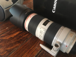 Canon 70-200mm f/2.8 USM 2 IS