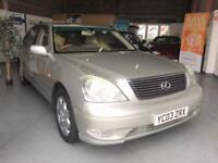 2003 03 Lexus LS 430 4.3 Auto,Very High Specification,FSH