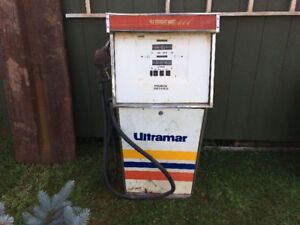 Unique and Rare Ultramar gas pump