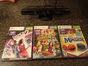 360 Kinect with Games/U Draw Tablet with game