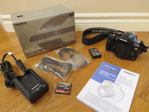 Olympus E-620 DSLR Camera and Various Lenses For Sale