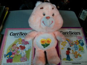 1983 Kenner Care Bears - Friend Bear with 2 books $20