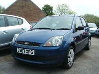 2007 Ford Fiesta 1.25 Style 5d **NEW MOT**