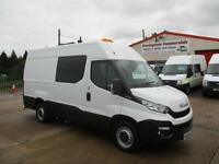 2016 IVECO DAILY 35S13 MWB CREW, MESS, MESSING, WELFARE UNIT TOILET VAN 11k ONLY