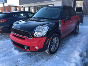 Mini cooper countryman S ALL4 2011 80 000km Garantie 2ans 50k km