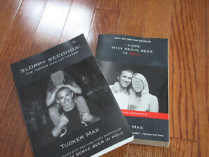 Tucker Max Best-Sellers, I Hope They Serve Beer  ($10 for both)