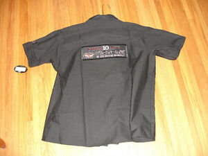NEW Mens Victory 10 yr XXL short sleeve shop shirt