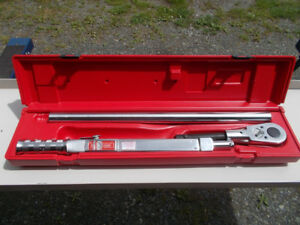 "3/4"" Snap on Torque Wrench"