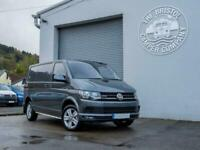 VW T6 SWB 66 Plate 204ps Twin Slider Kombi Tailgate 4Motion in Indium Grey