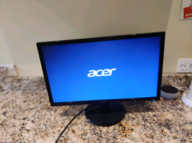 Acer Monitor 22 Inch, 2021 model - Excellent!