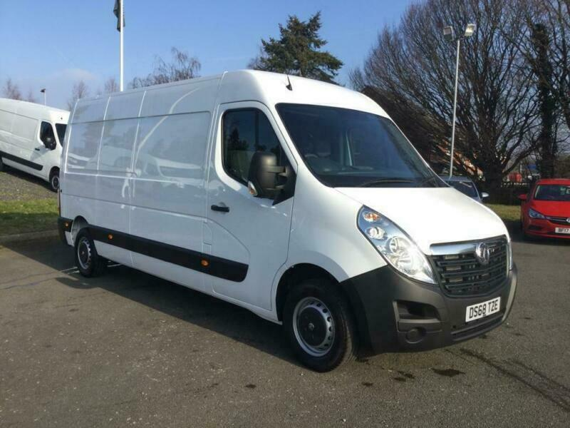 43a1d7f36f 2018 Vauxhall Movano 2.3 CDTI H2 Van 130ps Diesel white Manual ...