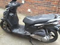 Sym moped scooter 125 spare or repair, non runner not pcx sh only 299