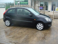 Ford Fiesta 1.25 2007.25MY Style Climate GUARANTEED CAR FINANCE