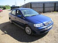 2004 Vauxhall Astra 1.6i 8v Club Petrol Manual 5 Door Hatchback Blue Cheap