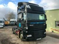 DAF XF 105.460 6x2 MANUAL GEARBOX MID LIFT TRACTOR UNIT for sale  Wrexham