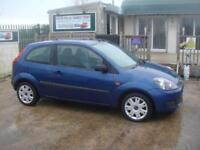 Ford Fiesta 1.4TDCi 2007.25MY Style Climate FSH