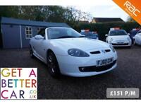 MG TF 1.8 135 - 60 REG - 13K - LIMITED EDITION - £151 PM - NO DEPOSIT FINANCE