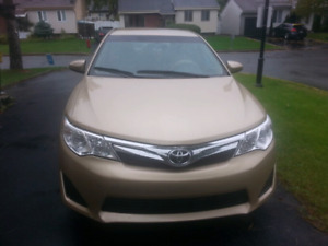 2012 toyota camry with navigation system low millage