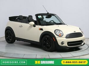 2013 Mini Cooper AUTO A/C CUIR TOIT MOU MAGS