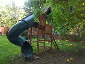 Swing-N-Slide Complete Playground Set 7' Deck Height