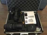 Nikon D3200 24.2MP DSLR BUNDLE
