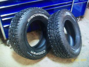 LT245/70 R16 Cooper Snow Tires Set of 2 Kitchener / Waterloo Kitchener Area image 2