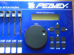 Peavey PC1600x  MIDI Command station